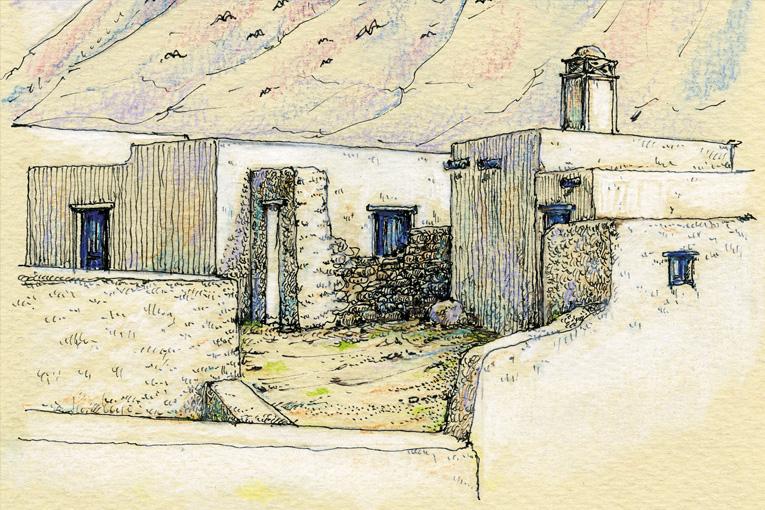 La sabidur a de las antiguas viviendas marineras de - Las casas canarias lanzarote ...